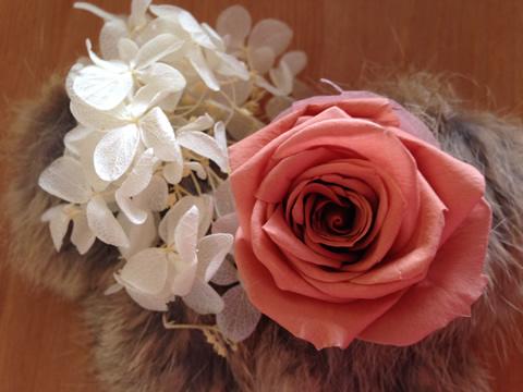 プリザーブドフラワー薔薇