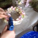 フラワーリースの作り方5
