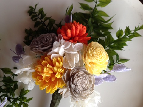 [仏花]お仏壇で使える綺麗なフラワーアレンジメント