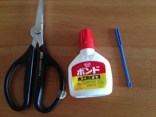 フラワーアレンジメントで使用する道具