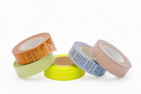 フローラルテープの代用はコレ!100均で買えるマスキングテープの使い道