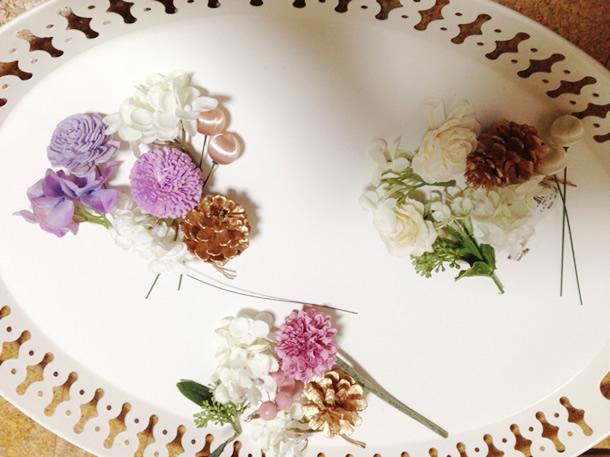 花束の材料